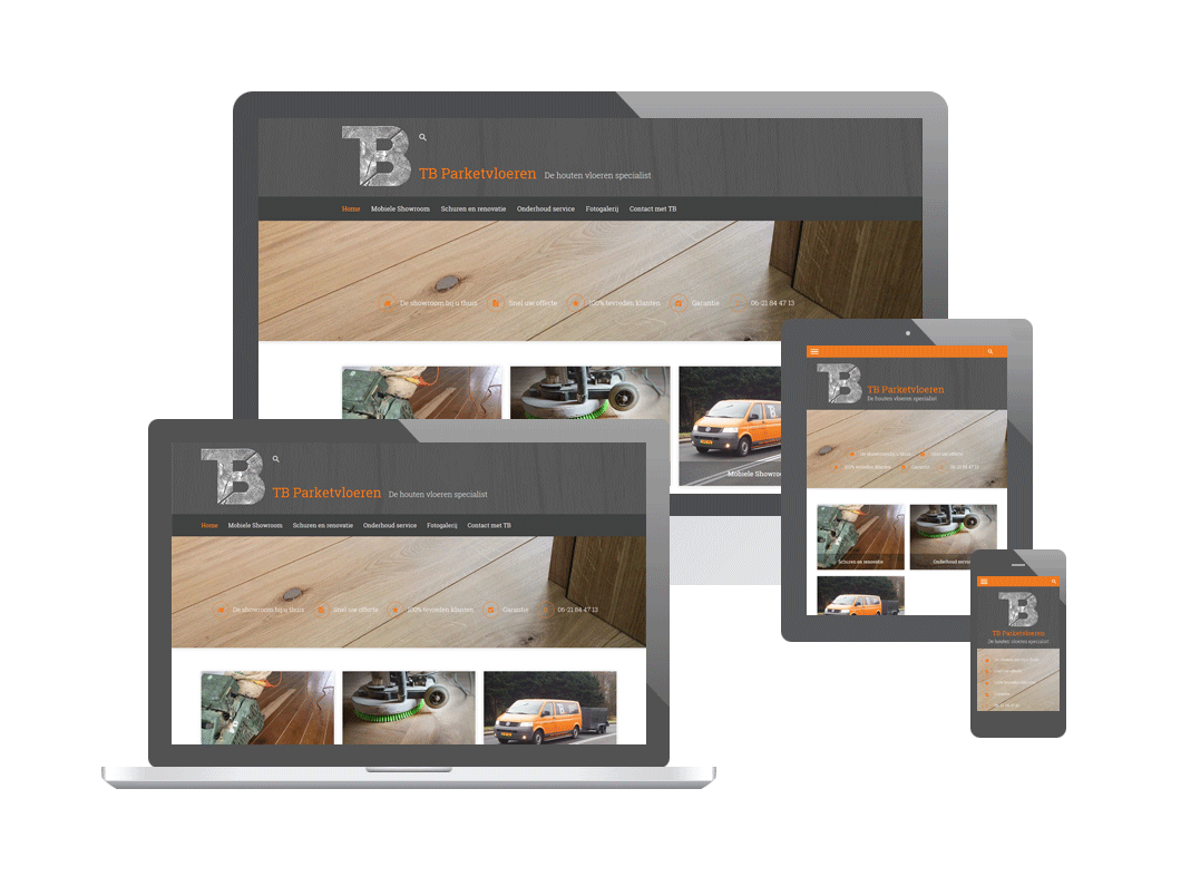 Website TB Parketvloeren