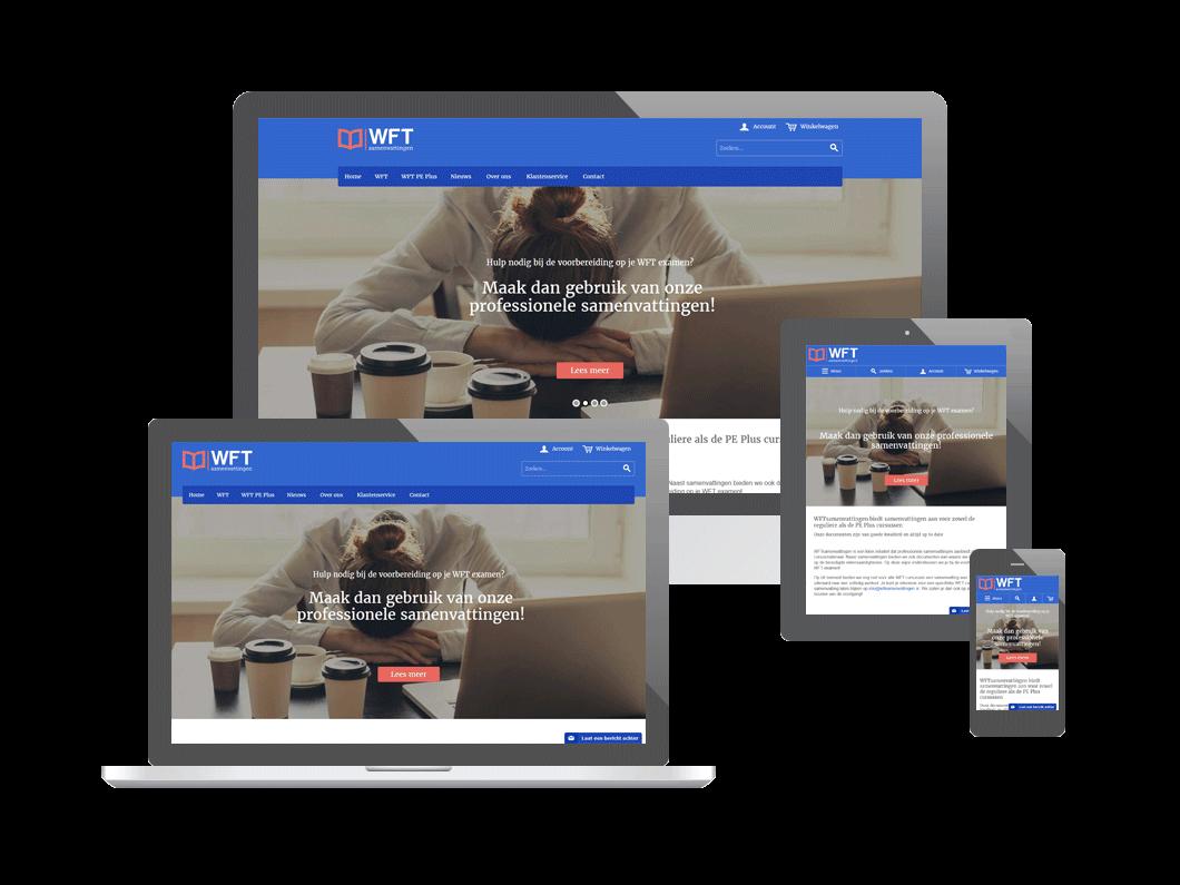 Webshop voor WFTsamenvattingen
