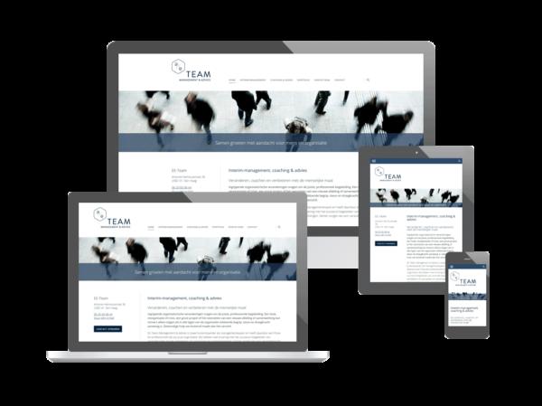 Website voor EE-Team