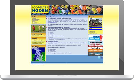 Loopgroep Hoorn oude website