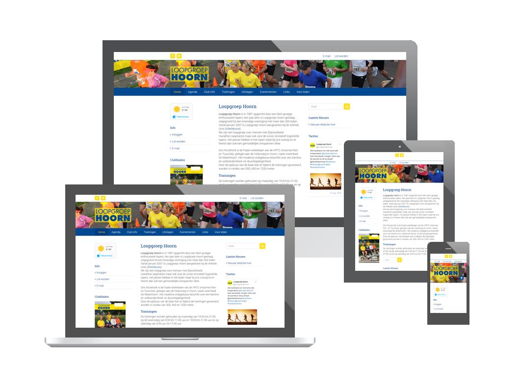 Website Loopgroep Hoorn