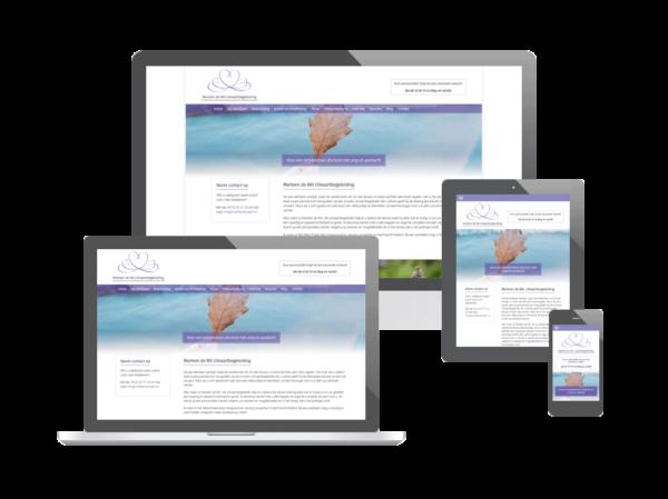 Website Marleen de Wit Uitvaartbegeleiding